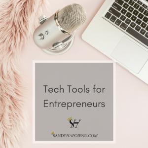 Tech tools for entrepreneurs